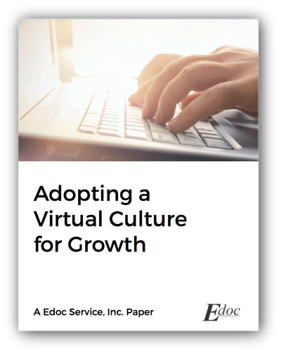 how to be a virtual company by edoc service