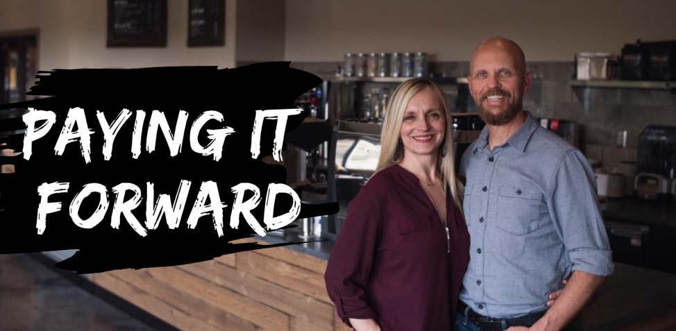 how this small business is paying it forward