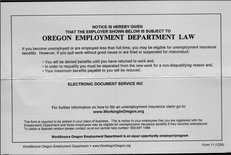 oregon employment